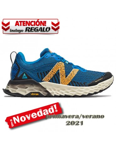 NB Fresh Foam HIERRO V6 blue