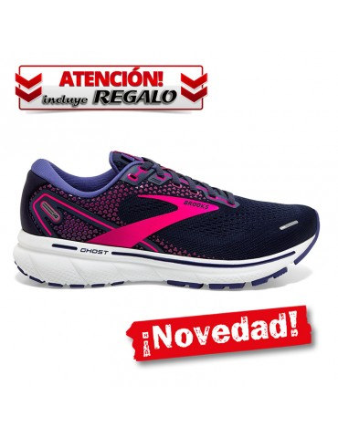 Brooks Ghost 14 NAVY MUJER
