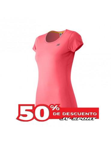 Camiseta NB accelerate mujer